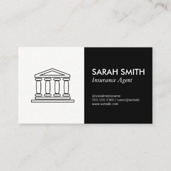 insurance / broker / real estate agent business card