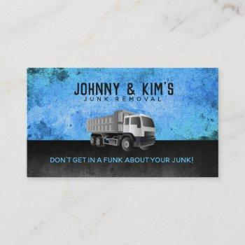 junk removal slogans business cards
