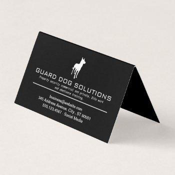 k9   dog training business card