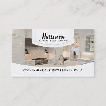 kitchen renovations slogans business cards