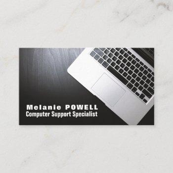 laptop, information technology, computer business card