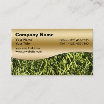 lawn business cards