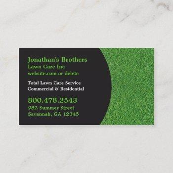 lawn care business cards