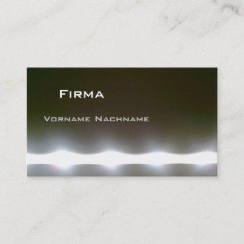led business card