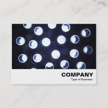 led light business card