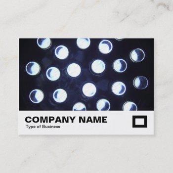 led lights business card