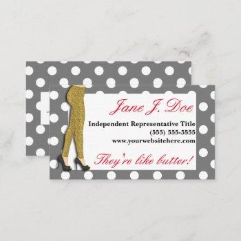 leggings sales, leopard print business card