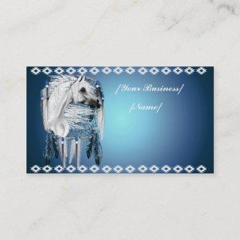 leopard appy dream catcher business card