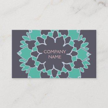 lotus blossom business card