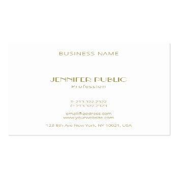 Small Luxurious Modern Elegant Gold Monogram Template Square Business Card Back View