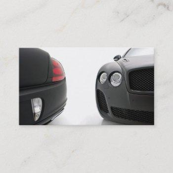 luxury  detailing business card