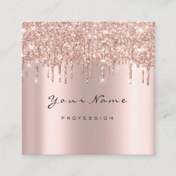 makeup artist event planner glitter spark event square business card