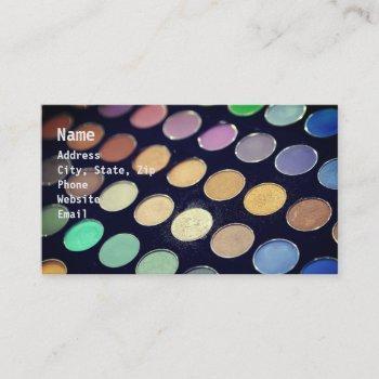 makeup circles2 business card