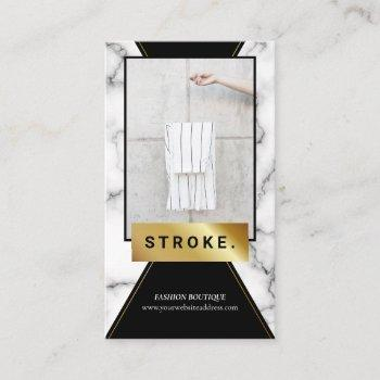 marble photo booth frame business card