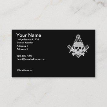 masonic business card 2
