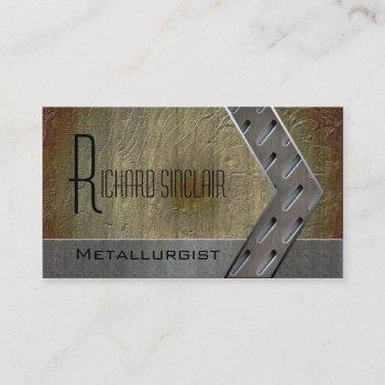 metallurgy style3 business card