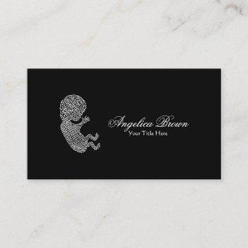 midwife doula business card