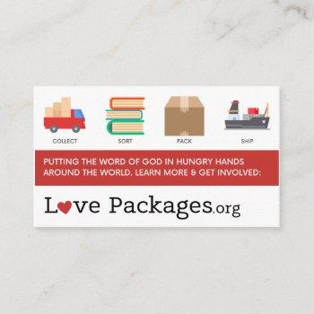 ministry cards (pack of 100)