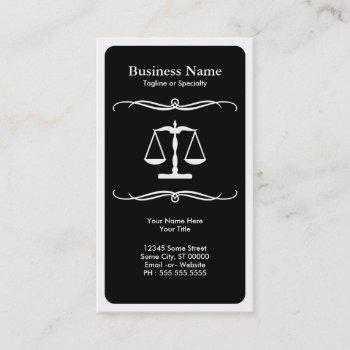 mod law business card