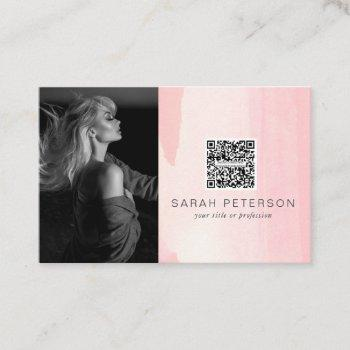 models actress performance stylish abstract photo  business card