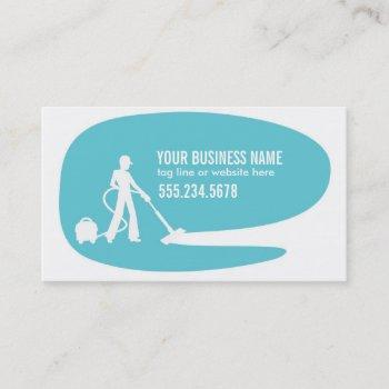 modern cleaning services business card template