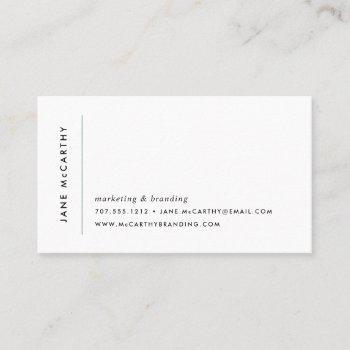 modern minimal business cards | sage