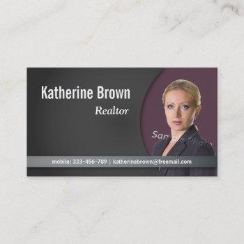 modern, professional, chic, real estate, photo business card