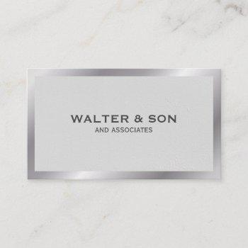 monogram | executive | high lux business card