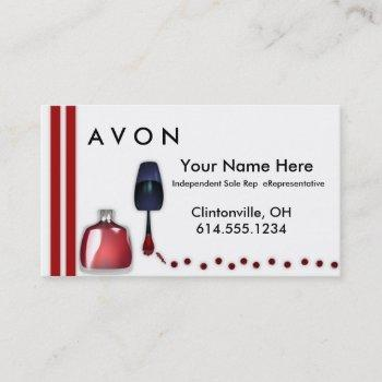 nail polish makeup business cards