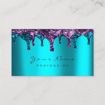 nails wax epilation depilation navy purple bluteal business card