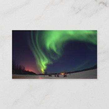 northern lights business card