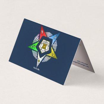 o.e.s business card