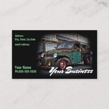one and done business card