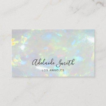 opal photo background business card