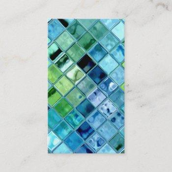 open ocean customizable template business cards
