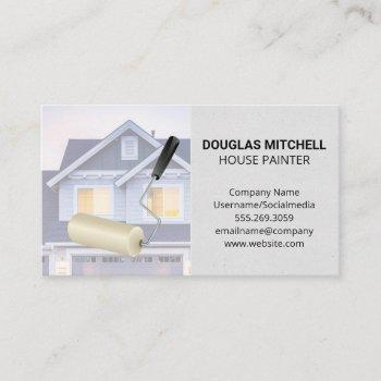 paint roller | residential home business card