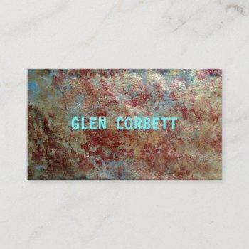 patina business card