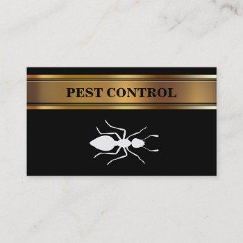 pest contol business cards