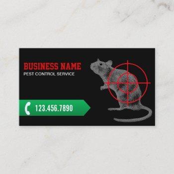 pest control professional exterminator business card