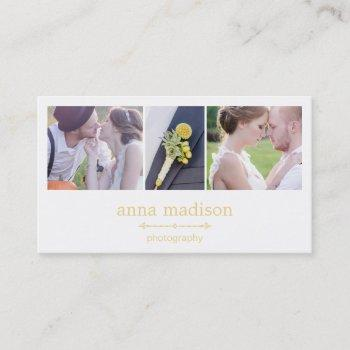photo showcase photography business card - groupon