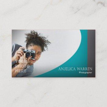 photographer, photography, videographer, camera business card