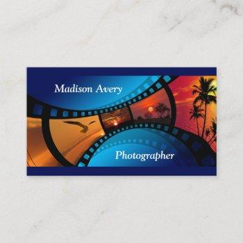 photography film photos photographer business card