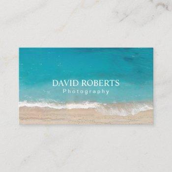 photography studio professional photographer business card