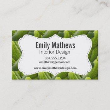 pickles; pickle business card