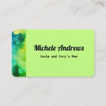 play date mom card cards color text