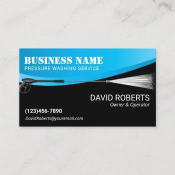 power wash pressure washing professional cleaning business card