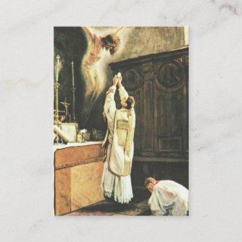prayer for priests by st. therese holy card