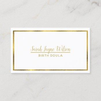 professional birth doula midwife business cards