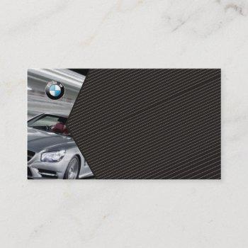 professional bmw auto car dealer and seller card