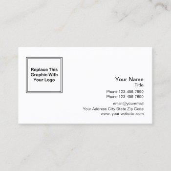 professional logo design business card